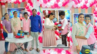 Actress Roja Selvamani Son Koushik Birthday Celebrations - RAJSHRITELUGU
