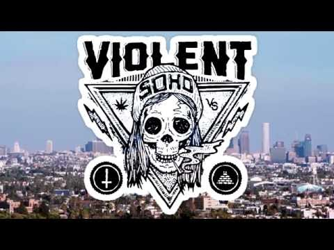 Violent Soho - Like Soda + Interview | Rooftop Riots