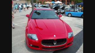 The red hot Maserati Quattroporte Sport GTS