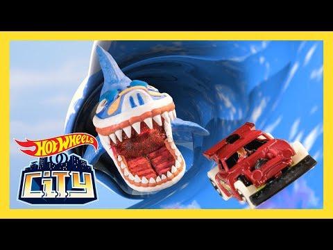 Episode 4: THE SHARK STRIKES BACK! | Hot Wheels City: Season 2 | Hot Wheels