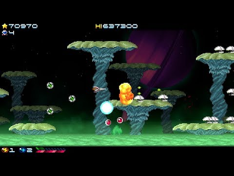 Super Hydorah (PC) - Full gameplay (Hero ending) [No commentary]