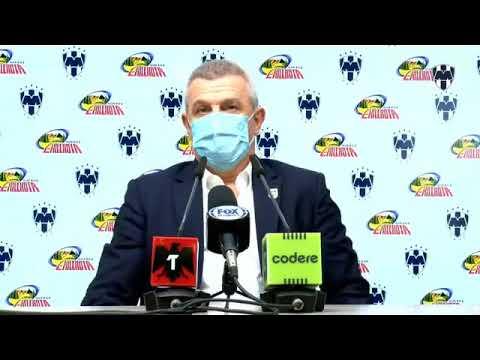 Javier Aguirre D.T. RayadosMonterrey 2-0 Toluca ConferenciaGrita México A 21