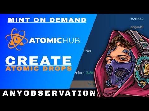 Create Atomic Drops   NFT Mint on Demand!