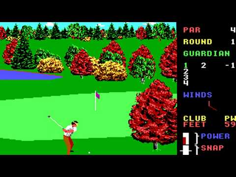 World Class Leader Board (Course A: Cypress Creek) (Access) (MS-DOS) [1989] [PC Longplay]
