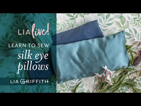 DIY Eye Pillow – Last Minute Mother's Day Gift