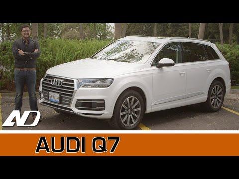 Audi Q7 - Lujo, solidez y velocidad.