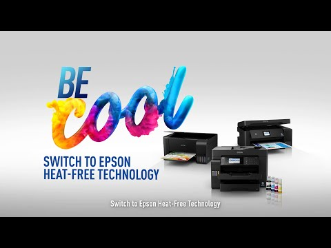 Be Cool - Switch to Heat-Free EcoTank Printers