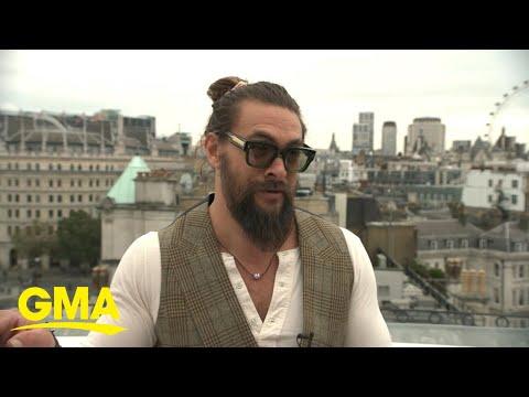 Jason Momoa takes on London and talks 'Dune' l GMA