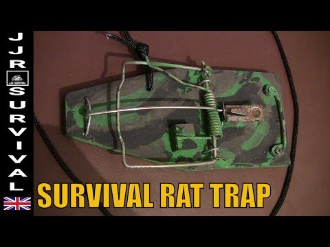 Modified Survival Rat Trap