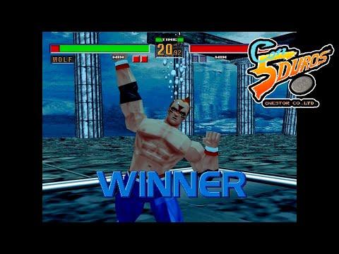 """VIRTUA FIGHTER 2 (VER 2.1) (WOLF) - """"CON 5 DUROS"""" Episodio 801 (+Virtua Fighter 2/Megadrive) (1cc)"""