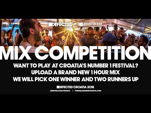 Point Blank x Defected Croatia Mix Competition