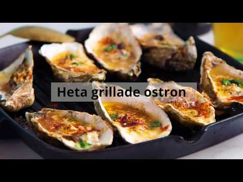 Så enkelt öppnar du ostron I Tasteline