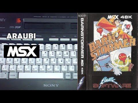 Barn Stormer (Electric Software, 1985) MSX [275] Walkthrough Comentado