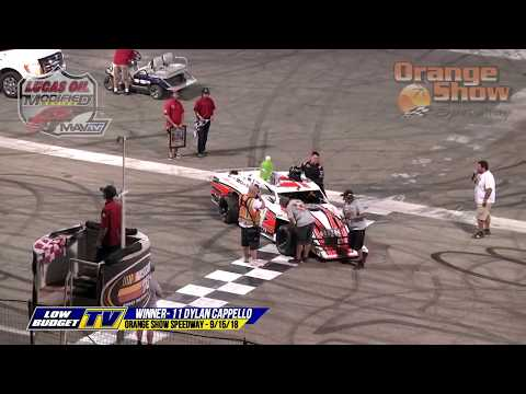 Racing Recap: Orange Show Speedway - 9/15/18