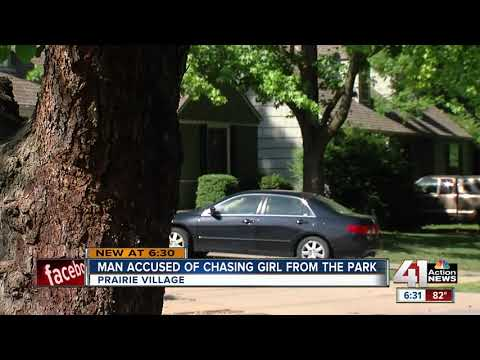 Man charged after allegedly chasing young girl