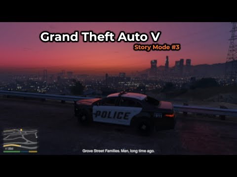 Grand Theft Auto V - Story Mode #3 (Livestream 09/02/2018)