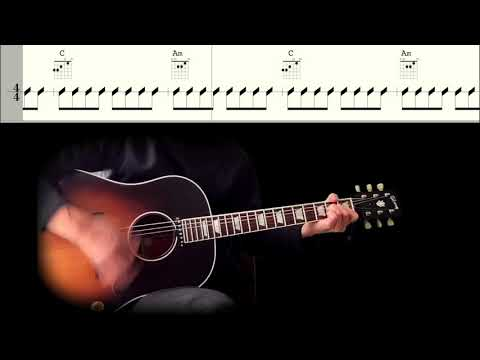 Guitar TAB : Misery (Rhythm Guitar) - The Beatles