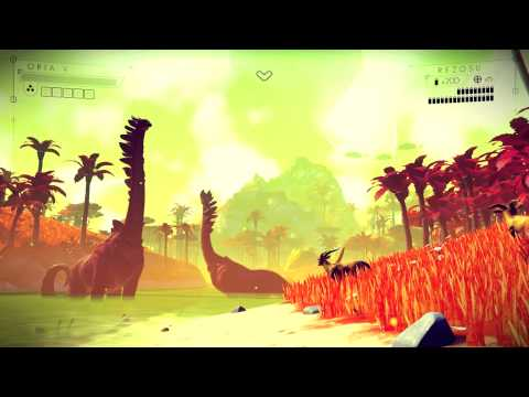 No Man's Sky gameplay E3 2014