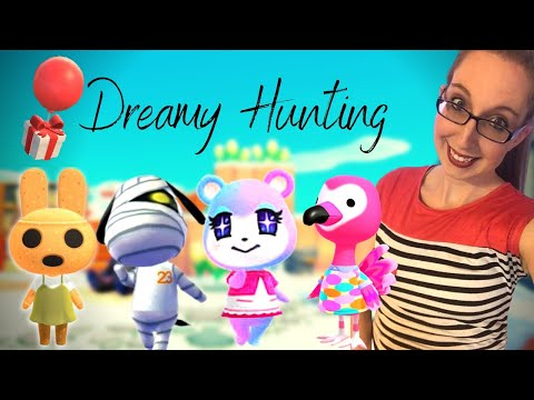 DREAMIE HUNTING FOR OVERRATED VILLAGERS!  Over 250 NMT! Animal Crossing New Horizons