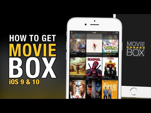 Install Movie Box with Zestia [New] - iOS 10 3 - 7 2 1 No Jailbreak