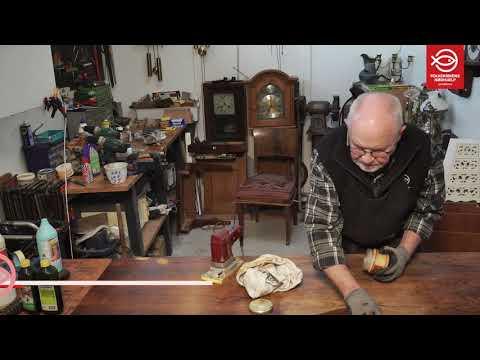 Bordplade - nedslibning og oliering - Gør det selv med Ivan