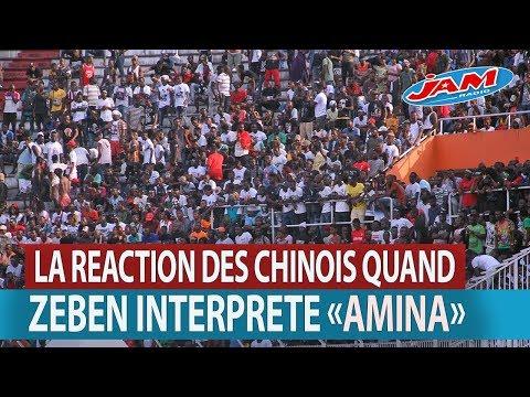 DECOUVREZ LA REACTION DES CHINOIS QUAND ZEBEN INTERPRETE AMINA DE SHENEY