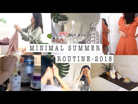 Minimalist Life: 5 Summer Lifestyle + Skincare Tips to Help You Simplify