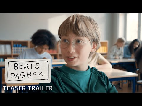 BERTS DAGBOK - Teaser trailer - kommer på bio