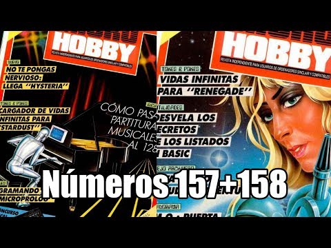 ·Especiales MICROHOBBY: Numeros 157+158: HYSTERIA + PHANTIS