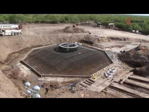 ¿Quieres saber cómo se hace la cimentación de un aerogenerador?