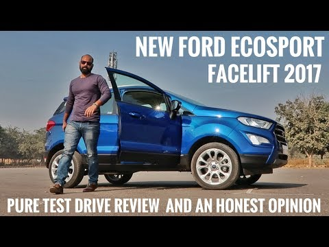 connectYoutube - NEW FORD ECOSPORT FACELIFT 2017 TEST DRIVE REVIEW AND AN HONEST OPINION