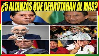 5 Alianzas de Derecha Quieren Derrotar al Partido de Evo Morales en Elecciones 2020