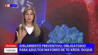 Presidente Duque hace nuevo anuncio ante alerta por coronavirus en Colombia   Semana Noticias