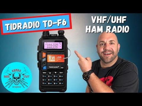 TIDRADIO TD-F6   Baofeng UV-9R Review
