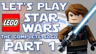 Lego Star Wars: The Complete saga part 1: The Saga Begins