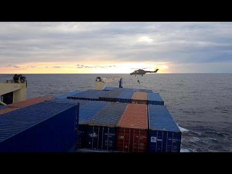 Turkey blocks an EU mission inspection of a cargo vessel travelling to Libya