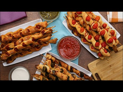 3 Ways To Eat Delicious Pizza On A Stick ?Tasty