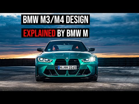BMW M Designer Explains the design of the new M3 and M4 (G80/G82)