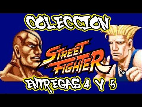 COLECCION FIGURAS STREET FIGHTER ENTREGAS 4 Y 5