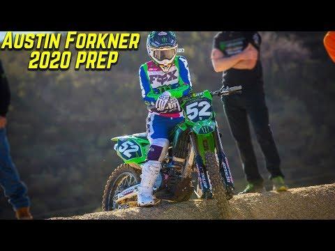 Austin Forkner 2020 Supercross Prep - Motocross Action Magazine