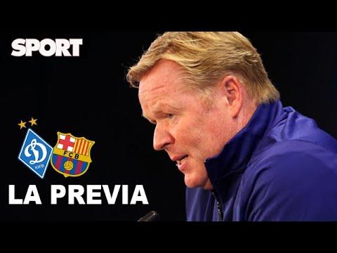 RUEDA DE PRENSA de KOEMAN🎙PREVIA DINAMO DE KIEV – FC BARCELONA: «ES MOMENTO DE DAR DESCANSO A MESSI»