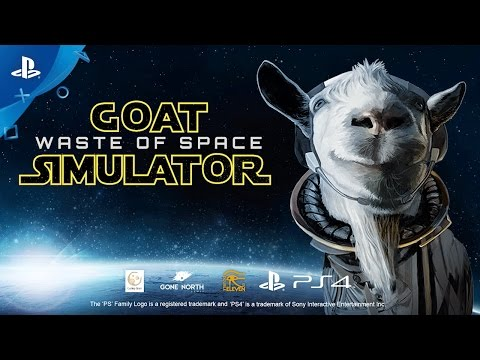 Goat Simulator: Waste of Space - Announce Trailer | PS4