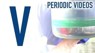 Vanadium (new) - Periodic Table of Videos