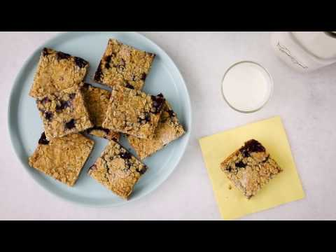 Dessert Recipes - How to Make Raspberry Oatmeal Cookie Bars