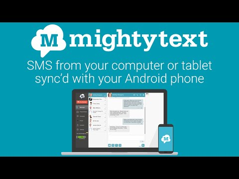 sms from pc tablet mms text messaging sync video