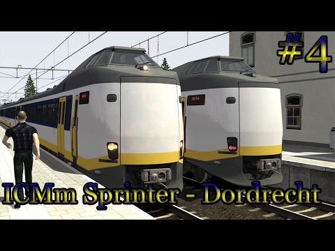 ICMm Sprinter naar Dordrecht - Train Simulator 2017 (Livestream #4)