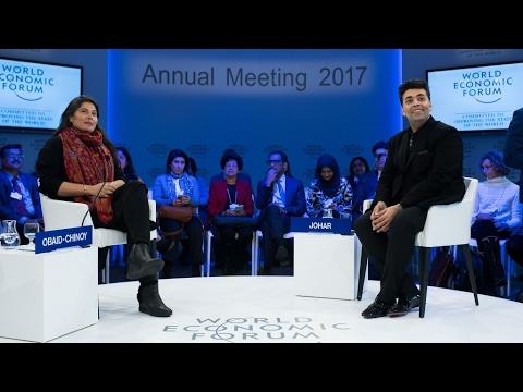 Davos 2017 - A Conversation with Karan Johar and Sharmeen Obaid Chinoy