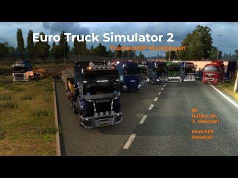 Euro Truck Simulator 2 TruckersMP Livestream 23092017