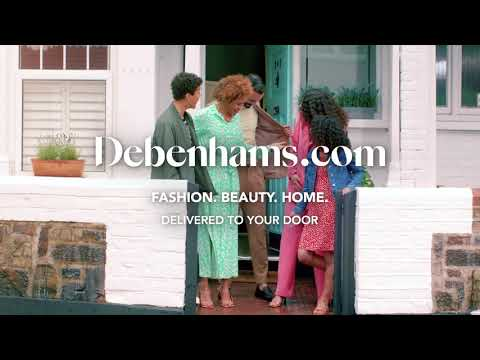 debenhams.com & Debenhams Promo Code video: Debenhams.com I Debenhams Delivery Advert 2021