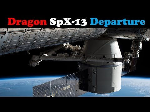 connectYoutube - Live: Dragon SpX-13 spacecraft Departure from the ISS